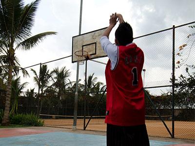 kabira country club Basketball Court