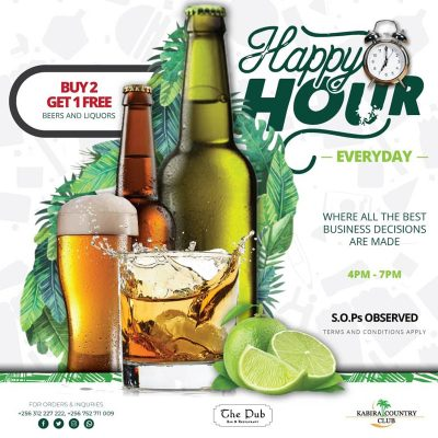 Kabira Country Club Happy Hour offer
